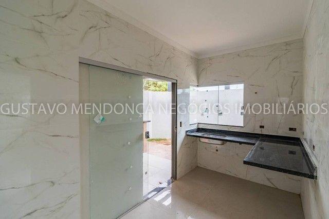 Linda casa nova no bairro Rita Vieira 1 - Alto padrão de acabamento e em excelente localiz - Foto 9