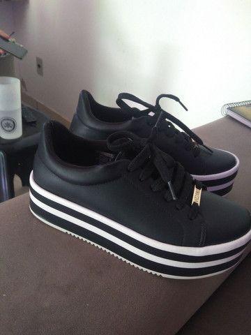 Sapato Vizzano semi novo
