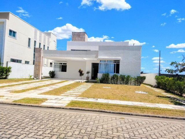 Casa Plana no Alphaville fortaleza,3 suites + Gabinete
