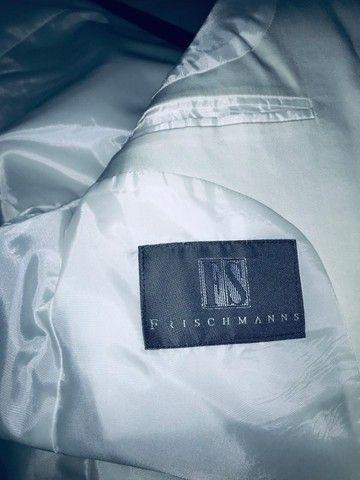 Blazer branco masculino impecável modelo italiano marca Frischmanns - Foto 2