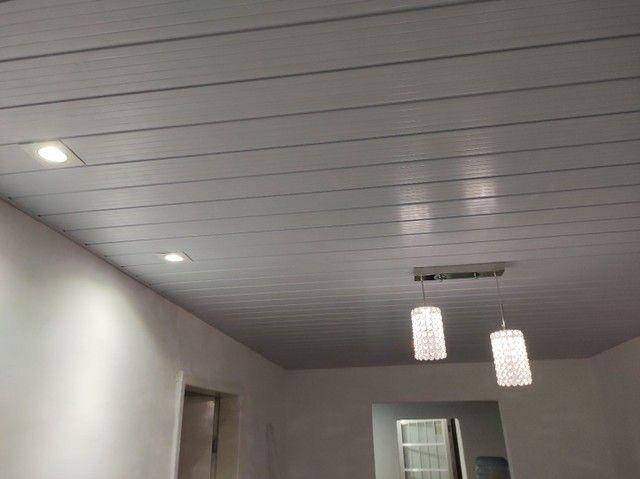 Forro PVC já instalado  - Foto 5
