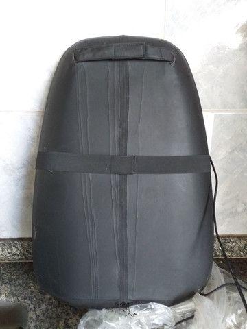 Assento Massageador Shiatsu Aquecimento - Relaxmedic (*Usado 01 vez*) - Foto 4