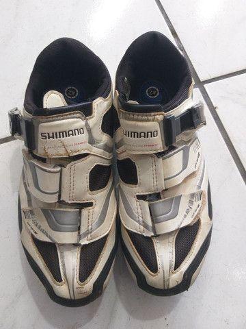 Vendo sapatilha shimano
