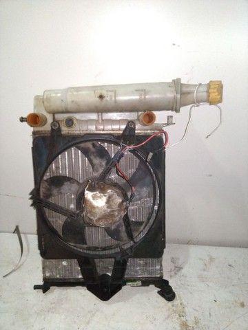 Kit radiador Palio 97 com ventoinha e defletor