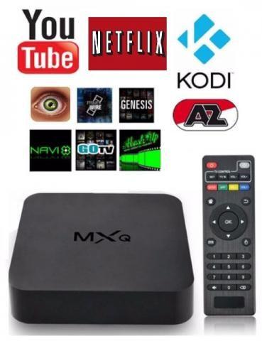 Tv Box Mini Pc Android Smart Tv Netflix Youtube Hdmi Usb Sd
