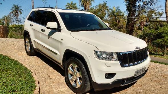 Jeep Grand Cherokee Limited 2011 Branca