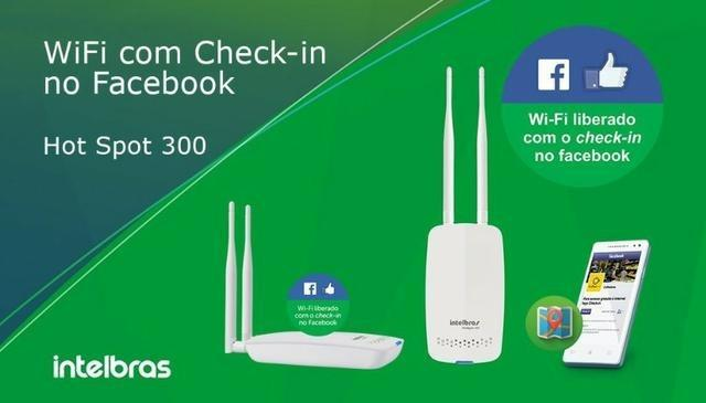 Roteador Wireless com check-in no ** Hotspot