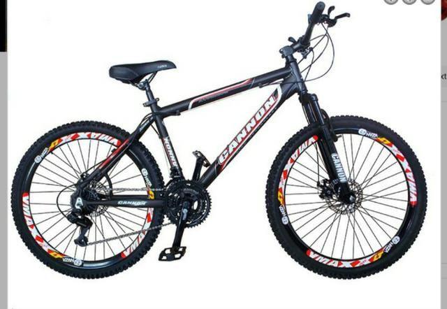 Urgente !!! Bicicleta Cannon Extreme Aro 26 Freio Disco