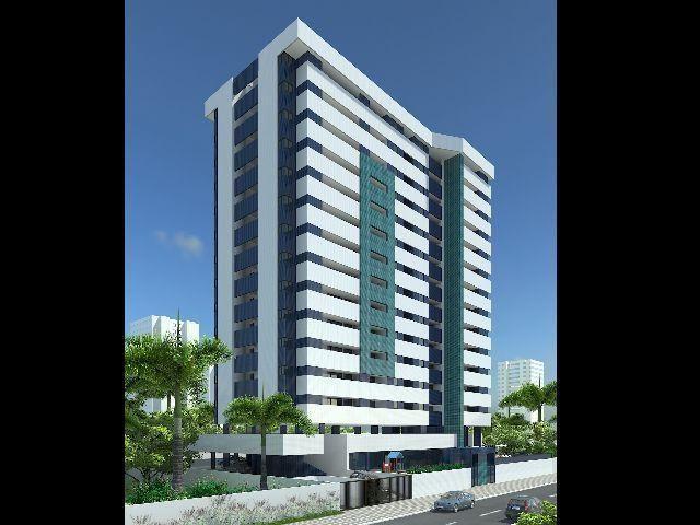 Aquasol - Apartamentos 2 e 3 quartos, varanda gourmet integrada a cozinha, Jatiuca