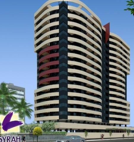 Syrah - Apartamento 3 quartos, suíte, varanda, 2 vagas, gabinete, Stella Maris