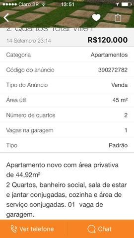 Apartamento Total ville I - 125.000,00