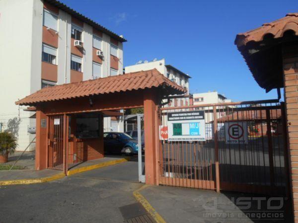 Apartamento à venda com 3 dormitórios em Sao miguel, São leopoldo cod:8277