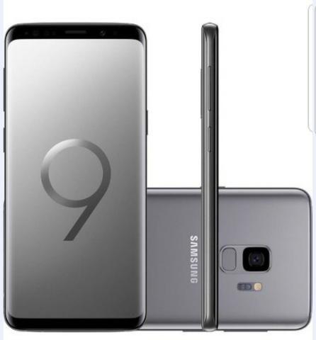 Samsung Galaxy S9 - 128GB (nacional) com acessórios