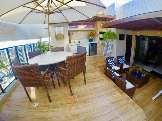 Cobertura Garden Alto Padrão, 172m2, 4 quartos sendo 3 suítes Lavabo e DCE - Foto 2