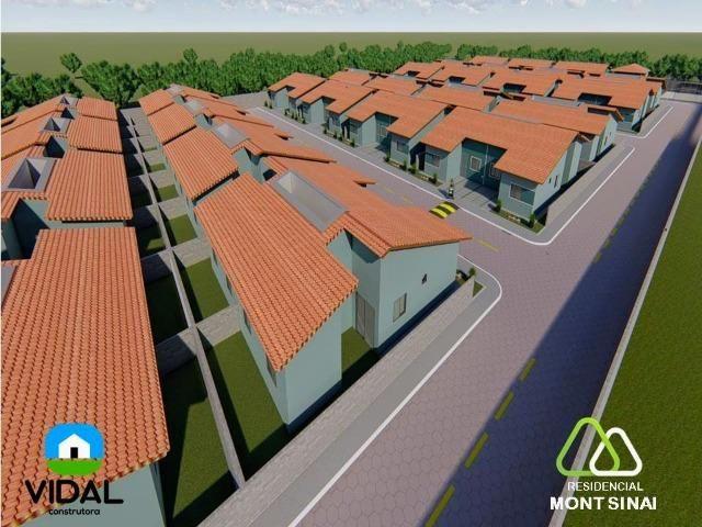 Casas no Residencial Mont Sinai com ITBI e Cartório Grátis!!