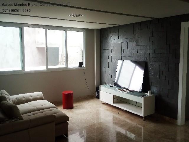 Linda casa pra venda ou locação - Alphaville Salvador 1. Lote diferenciado em parte alta.  - Foto 13