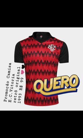 Camisa Vitória retrô 1993