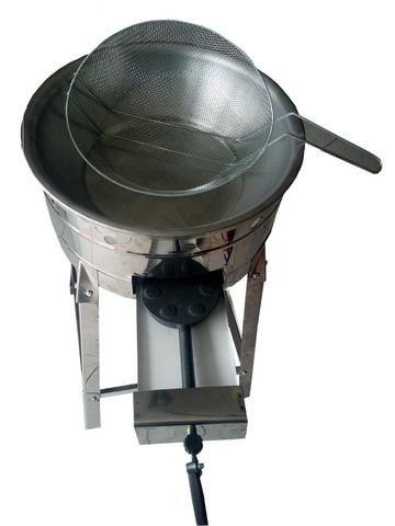 Fritadeira Tacho Pasteleiro, Salgados e Frituras em geral Inox - Foto 2