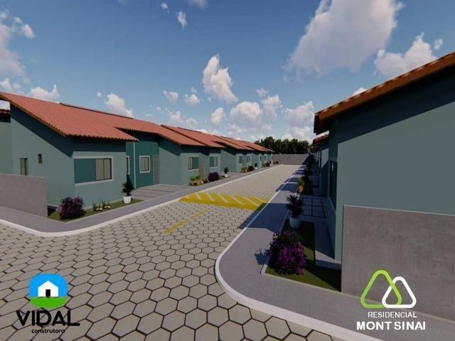 Casas no Residencial Mont Sinai com ITBI e Cartório Grátis!! - Foto 3