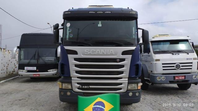 Scania g420 6x2 ano 2010 bitrem guerra ano 2011