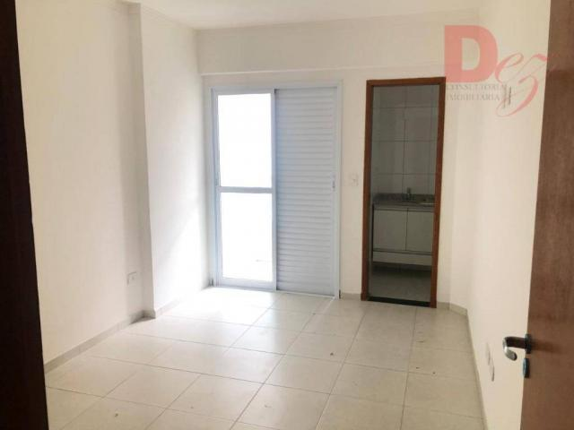 Apartamento com 2 dormitórios para alugar, 92 m² por r$ 2.200/mês - vila guilhermina - pra - Foto 12
