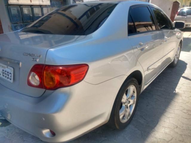 Vendo Corolla 2009 financio em promissória ou cheque - Foto 2