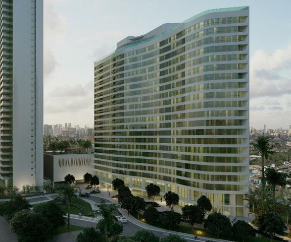 Parque no Cais flat com 1 quarto em Recife - Plano direto de pagamento