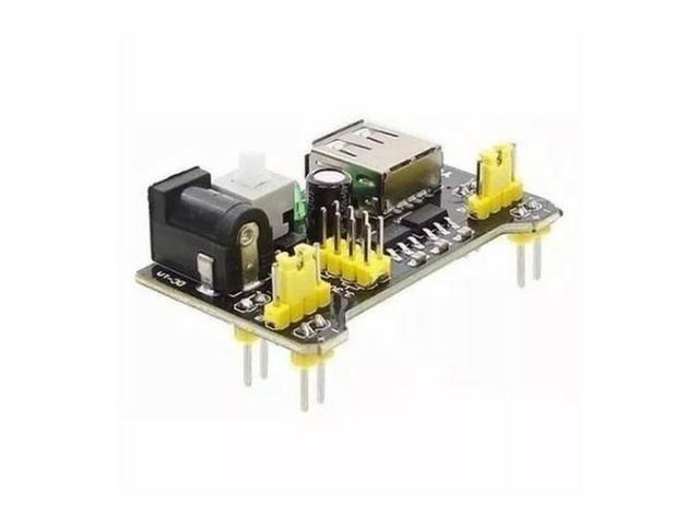 COD-AM20 Fonte De Alimentação 3.3v 5v Mb102 Protoboard Arduino - Pic - Automação - Roboti - Foto 2