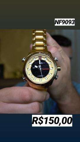 9307e9d0337 Naviforce relógio importado de luxo - Bijouterias