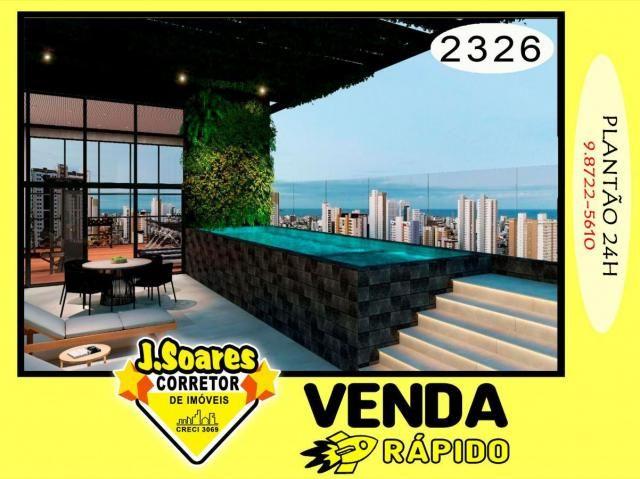 Apartamento 2 Quartos para Venda em João Pessoa, Aeroclube, 2 dormitórios, 1 suíte, 2 banh