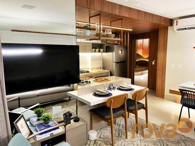 Apartamento à venda com 2 dormitórios em Setor bueno, Goiânia cod:NOV236000 - Foto 7
