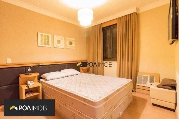 Apartamento mobiliado com 01 dormitório no Moinhos de Vento - Foto 8