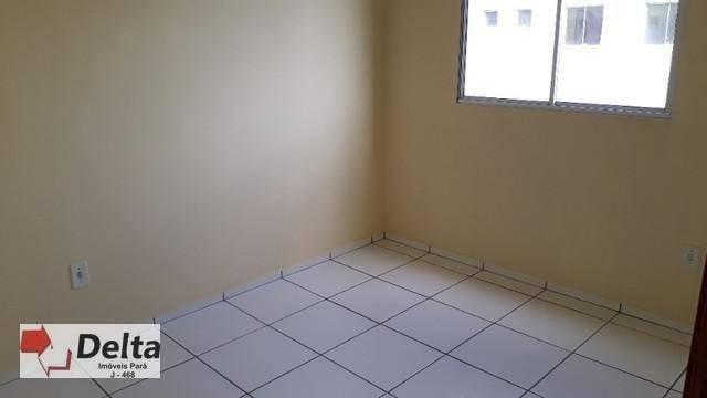 Apartamento com 2 dormitórios à venda, 62 m² por R$ 120.000 - Paricatuba - Benevides/PA - Foto 2