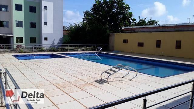 Apartamento com 2 dormitórios à venda, 62 m² por R$ 120.000 - Paricatuba - Benevides/PA - Foto 3
