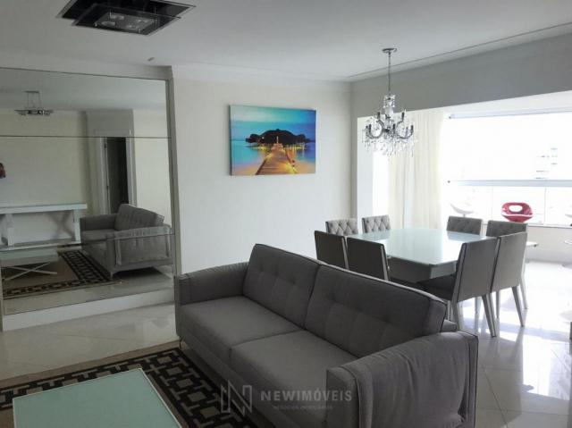 Apartamento Quadra Mar Mobiliado 3 Suítes - Foto 4