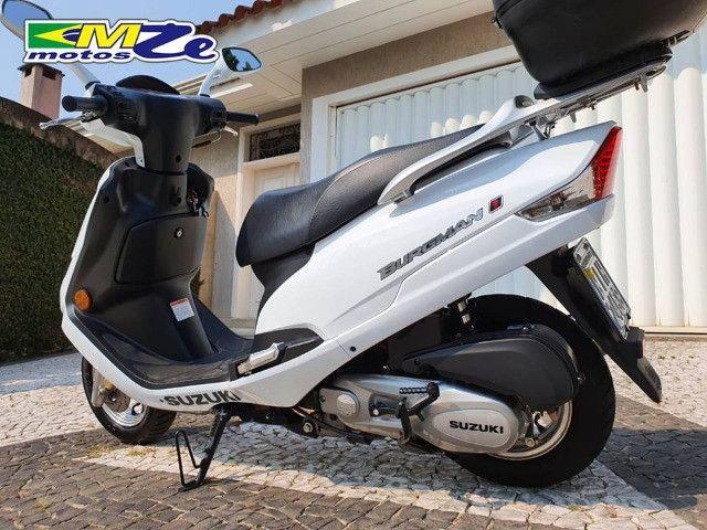 Suzuki Burgman I 125 2019 Branca com 800 km - Foto 5
