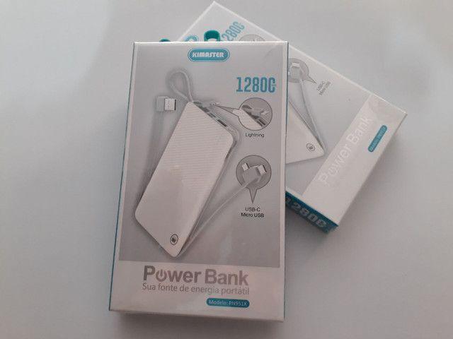POWER BANK 12.800mAh   R$90
