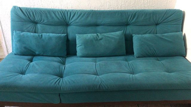 Sofá exclusivo 4 lugares (usado) - Móveis - Jardim Monte ...