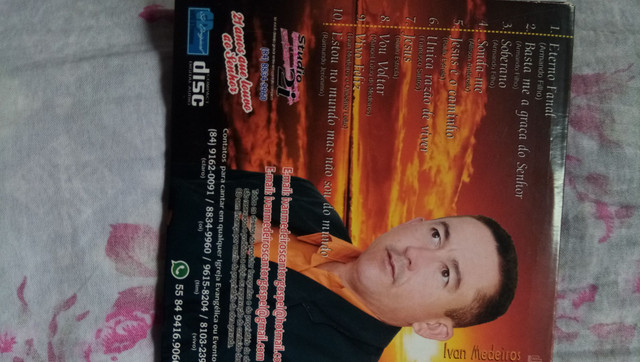 Soberano Volume 7 inclui todos os playback CD original