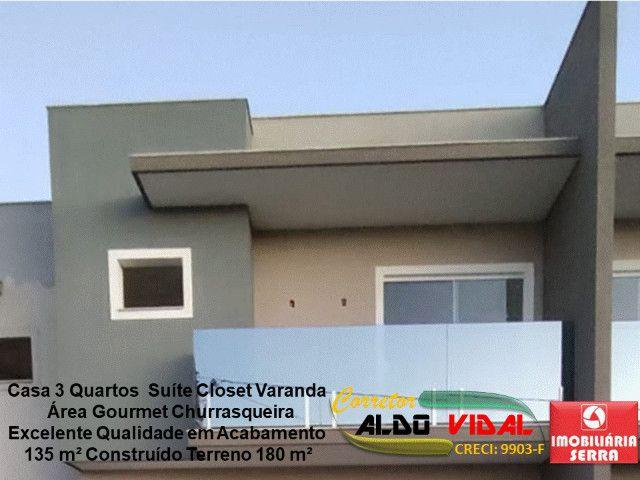 ARV 11. Casa 3 Quartos, Varanda, Suíte, Churrasqueira, Quintal Grande - Foto 11