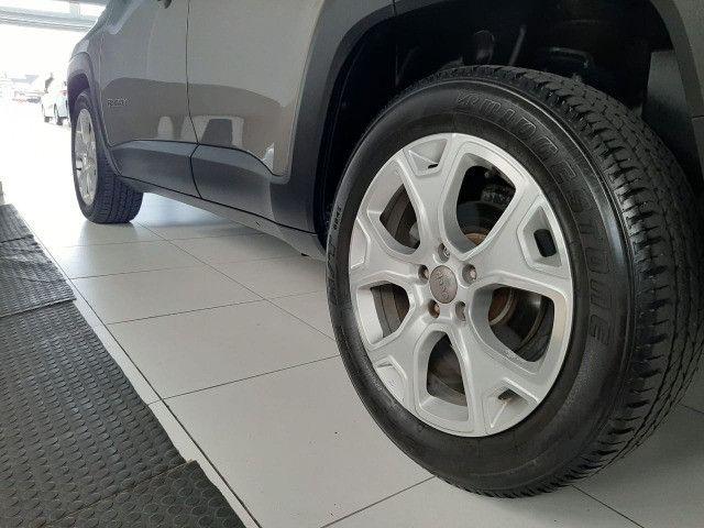Jeep renegade automática limited 1.8 completo banco de couro único dono garantia fabrica - Foto 14