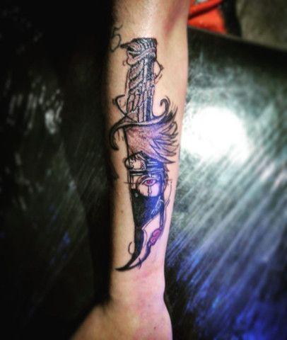 Faço tatuagem troco por celular,PC,tvs e games. - Foto 3