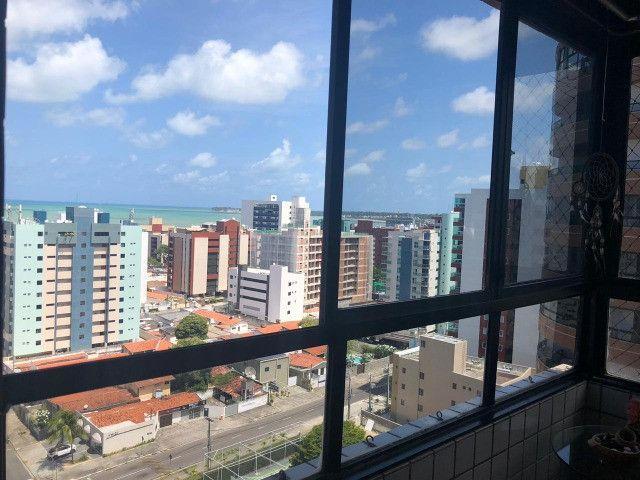 Oportunidade em Tambaú 110m2 3 Qtos +DCE vista belíssima do mar - Foto 2