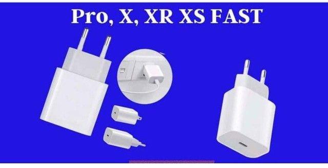 Carregador iPhone 5 ao 12 tipo C
