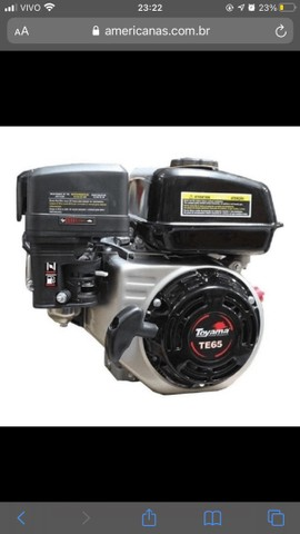 Motor Toyama 192cc 6.5hp 4T - Foto 2