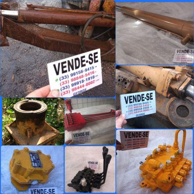 Base estabilizadora com cilindro,para bob cat ,cesto aéreo, grua florestal  - Foto 3