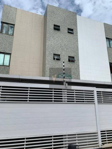 Apartamento com 3 quartos sendo 1 suíte, 76m², no Bessa - Foto 2