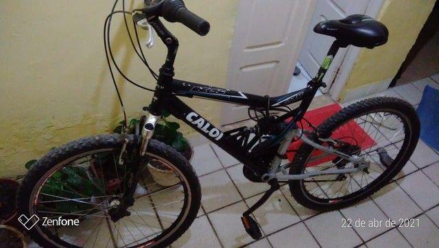 Bicicleta Caloi com marcha - Foto 3
