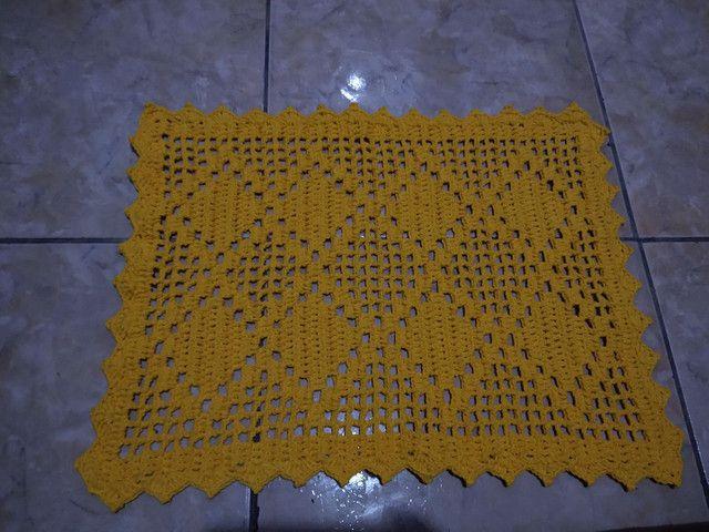 Jogos em crochê  - Foto 4