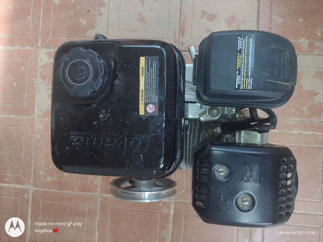 Vendo motor 6hp novo nunca usado  - Foto 5